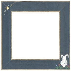 Matte Blue w/Bumble Bee & Bunny - Frames