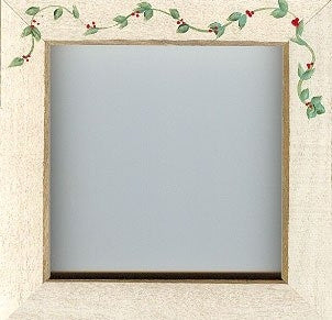 Antique White w/Berry Vine - Frames