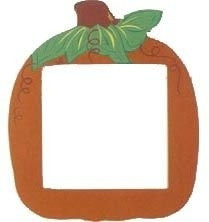 Orange Pumpkin - Frames