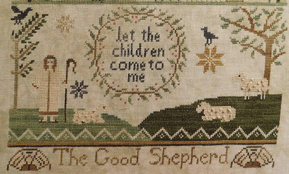 Jenny Bean Parlor 4 - The GoodShepherd ~ Shakespeare's Peddler