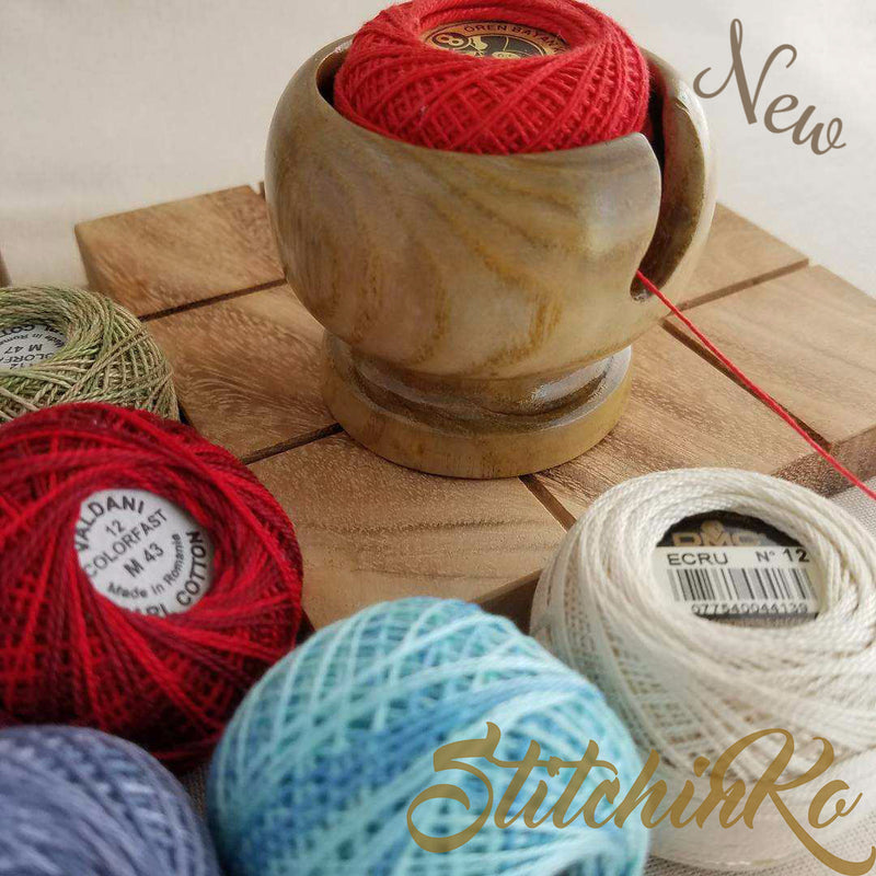 Perle Thread Saver ~ Exclusive Handmade