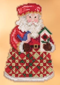 Cozy Christmas Santa - Jim Shore Mill Hill Kit JS20-3104