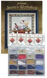 Santa's Workshop Embellishment Pack ~ Jim Shore Publications
