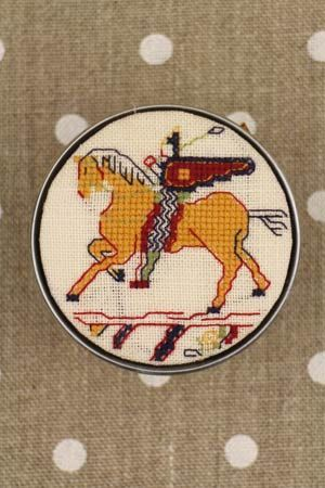 Sajou Cross Stitch Kit - Cavalier Pattern - Box to Embroider ~ Needlework Projects ~ SAJOU