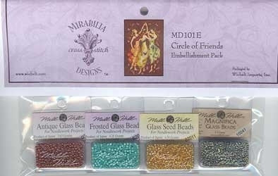 MD101E ~ Circle Of Friends ~ Embellishment Pack