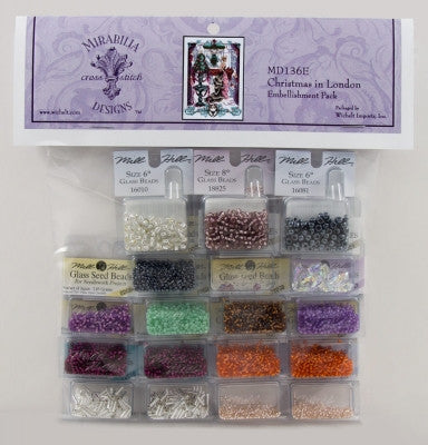MD136E ~ Christmas in London ~ Embellishment Pack