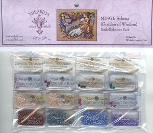 MD97E ~ Athena - Goddess Of Wisdom ~ Embellishment Pack