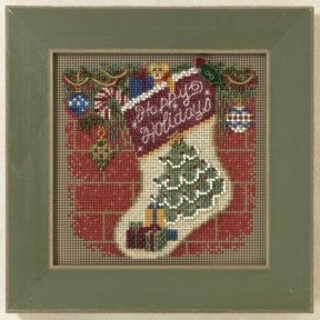 Holiday Stocking - Mill Hill Kit MH14-1305