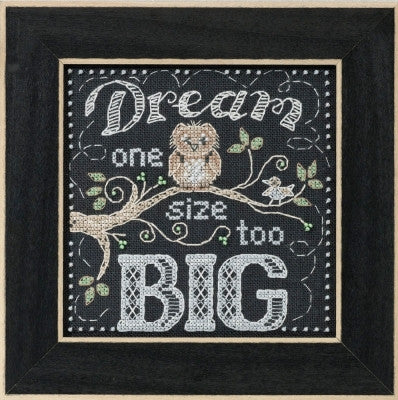 Dream Big - Chalkboard Quartet Mill Hill Kit MH17-1611