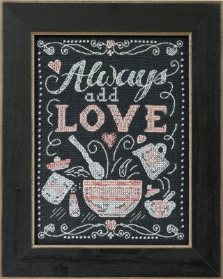 Add Love - Chalkboard Quartet - Mill Hill Kit  MH17-1613