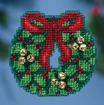 Jingle Bell Wreath - Mill Hill Kit MH18-1632