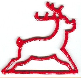 Bellpull ~ Red Reindeer