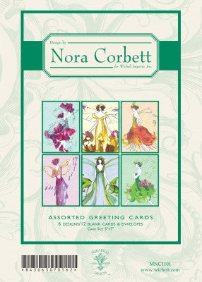 MNC1101 ~ Pixie Couture Greeting Cards ~ Nora Corbett