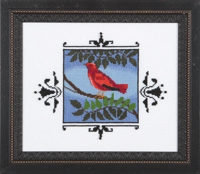 NC188 ~ Scarlet Tanager ~ Nora Corbett
