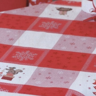 Red & White ~ Tablecloths ~ Rico Designs