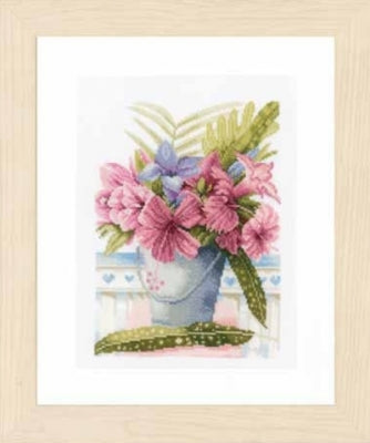 Flowers in Bucket by Marjolein Bastin ~ Lanarte