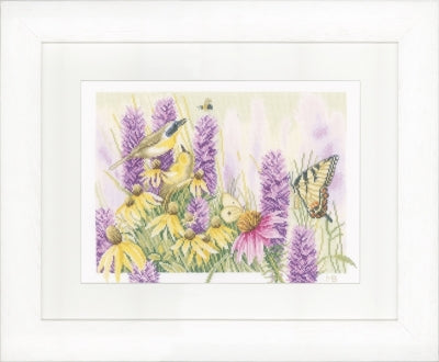 Butterfly Bush and Echinacea  by Marjolein Bastin ~ Lanarte