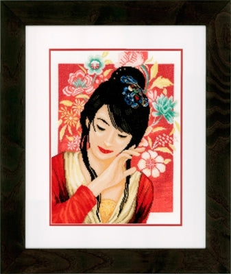 Asian Flower Girl ~ Lanarte