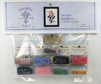 MD150E ~ Royal Games I ~ Embellishment Pack