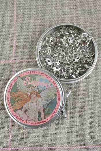 Metal Tins with Press Fasteners ~ SAJOU