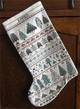 Cranberry Row  Christmas Stocking ~ Rosewood Manor