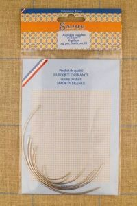 Curved Needles - Set of Six ~ SAJOU