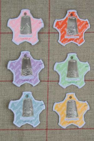 Dieppe Thread Cards - Pictures of Thimbles ~ SAJOU