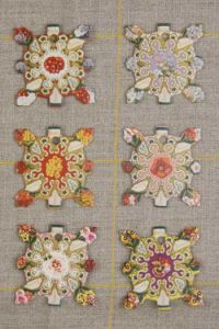 Elbeuf Thread Cards - Floral Designs Inspired By Vintage Seed Packets ~ SAJOU