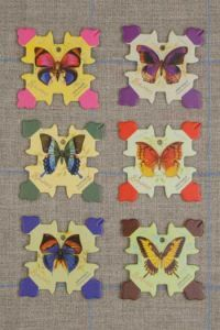 Honfleur Thread Cards - Butterflies ~ SAJOU