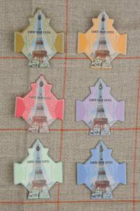 Paris Thread Cards - Paris ~ SAJOU