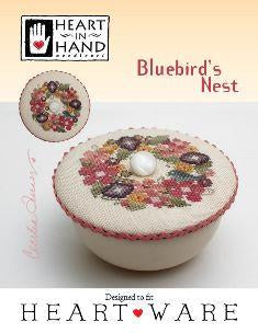Bluebird's Nest ~ Heart In Hand