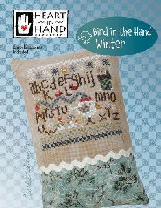 Bird in the Hand: Winter ~ Heart In Hand