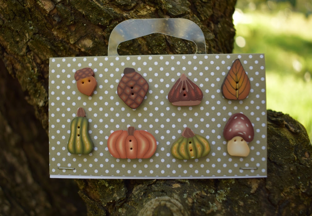 Autumn selection buttons set! ~ PuntiniPuntini