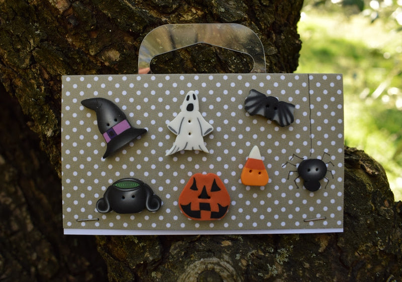 Halloween selection buttons set ~ PuntiniPuntini