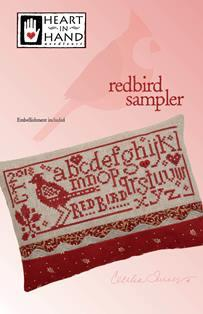Redbird Sampler ~ Heart In Hand
