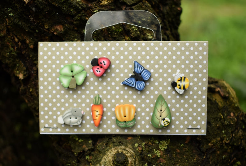 Spring button set ~ PuntiniPuntini