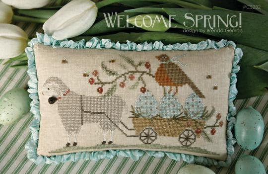 Welcome Spring ~ With Thy Needle & Thread