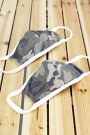 Kid Face Mask (Camo)