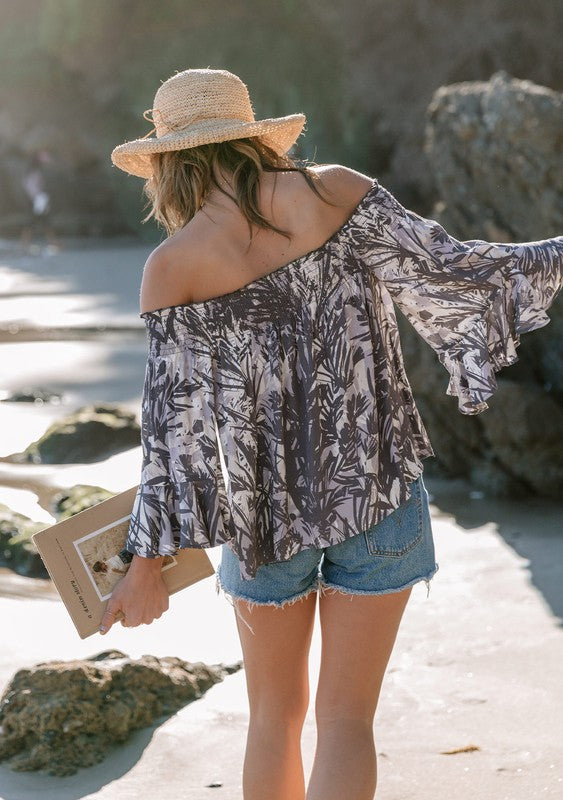 Keep Wishing For You Off Shoulder Top