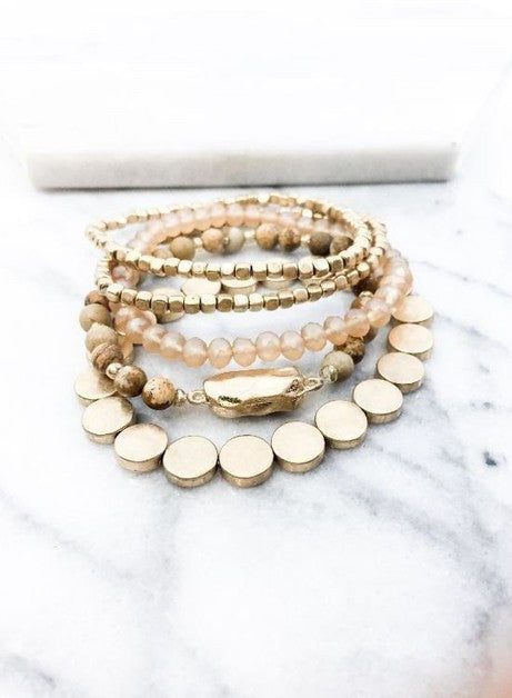 Hayley Bracelet Set | Assorted Colors