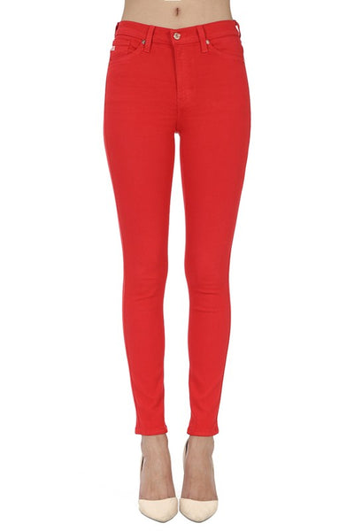 Carly Red Kancan Jeans