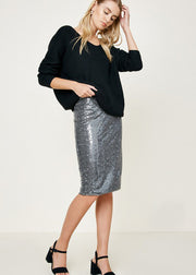 Jayde Sequin Skirt