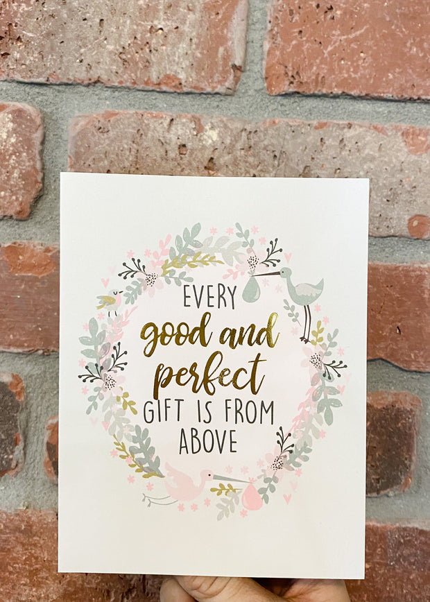 Every Good and Perfect - Card