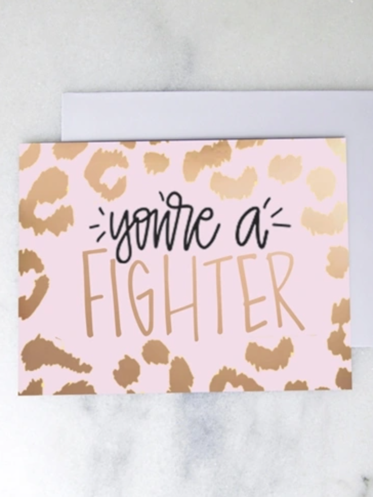You're a Fighter - Card
