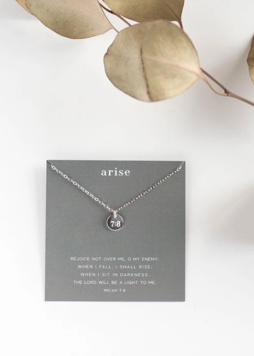 Arise Dear Heart Necklace