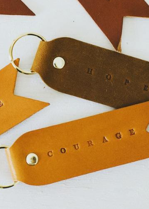 Courage - Keychain