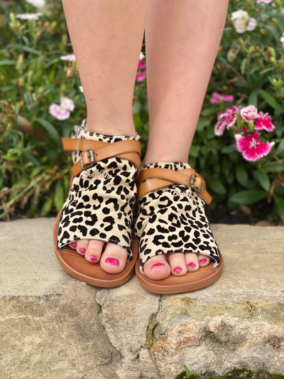 Lucy Leopard Sandal - Blowfish Kid's