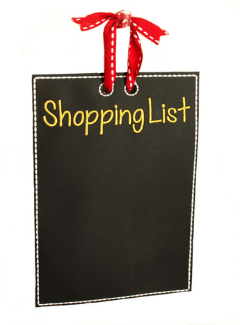 Chalkboard Shopping List