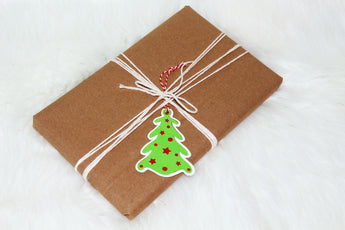 Christmas Gift Tag, Christmas Tree Gift Tag, Holiday Gift Tags, Gift Wrapping, Christmas Tree Tags, Gift Tags