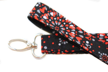 Valentines Day Hearts Lanyard